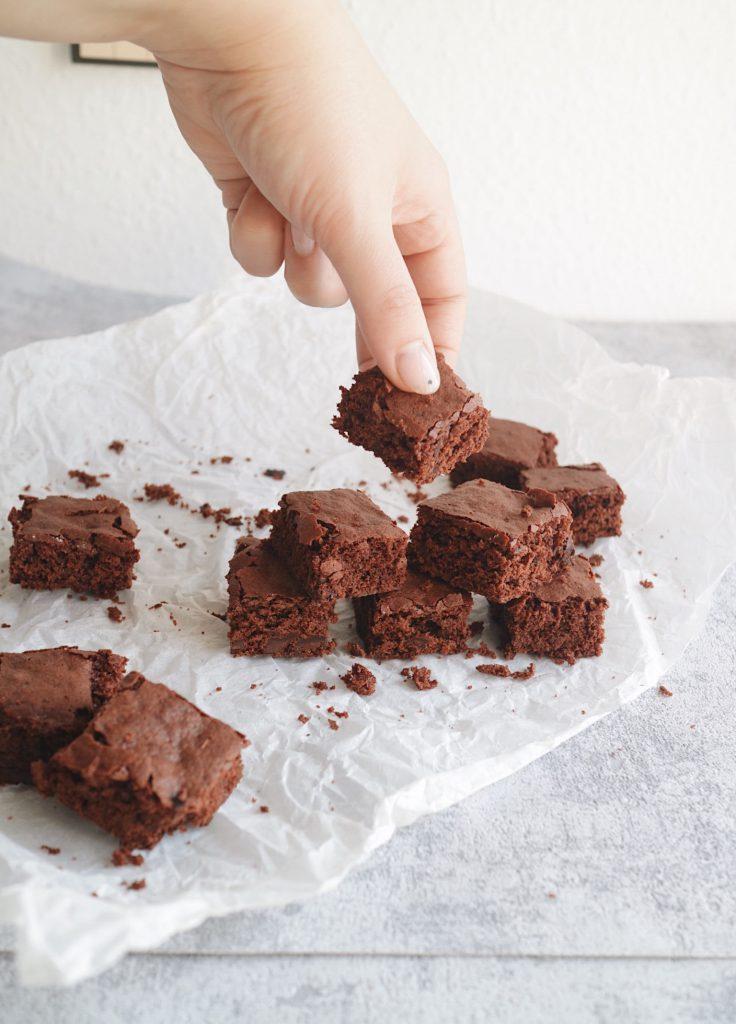 Vegane Brownies mit Aquafaba
