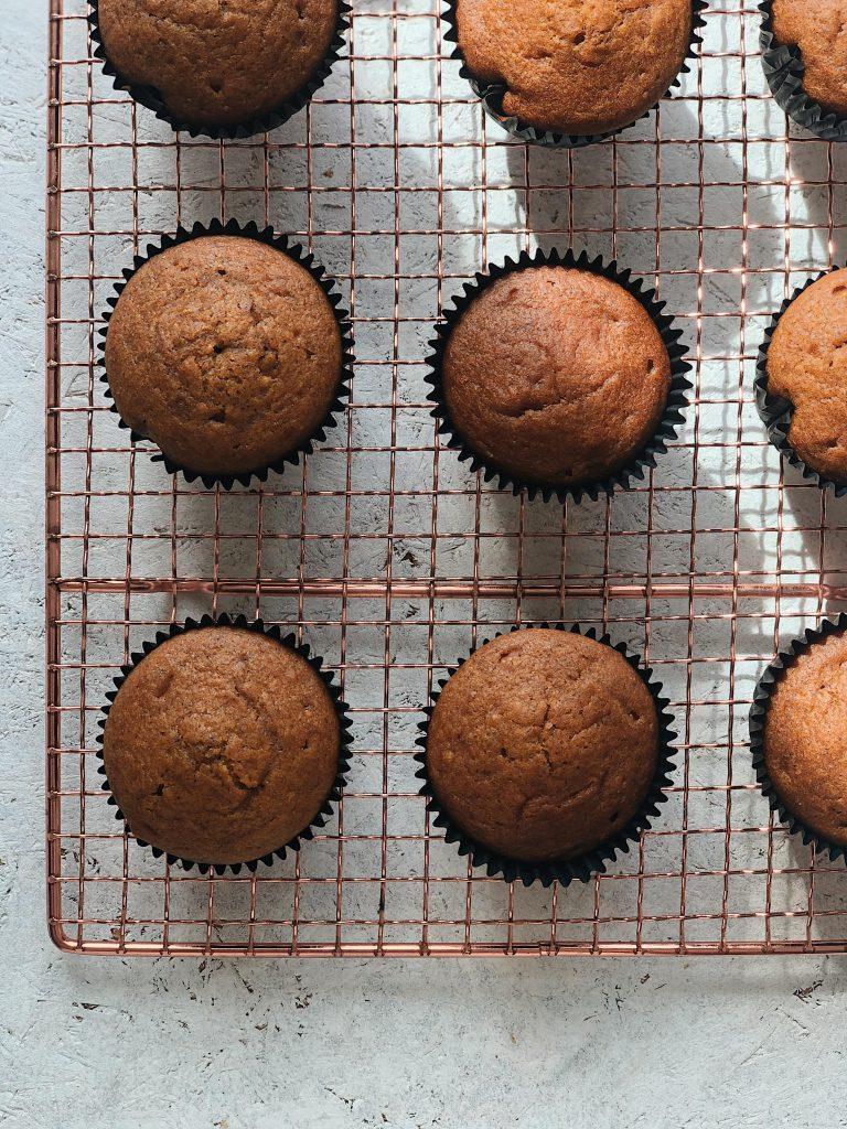 vegane kürbiscupcakes ohne topping