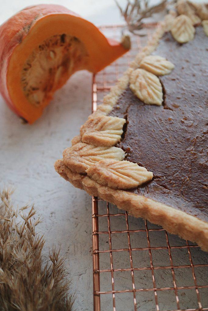 Veganer Pumpkin Pie im Detail