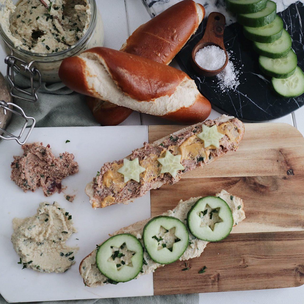 Vegane Aufstriche – Chashew-Schnittlauch & Kidney-Tofu